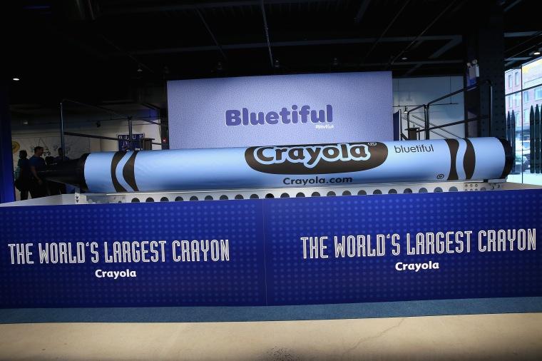 Crayola New Blue Event